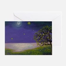Firefly Lullaby Greeting Card