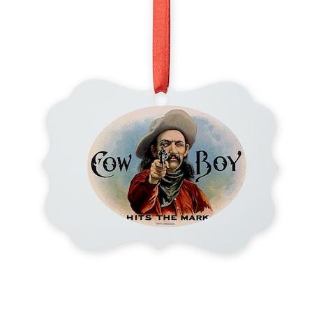 Cowboy Picture Ornament