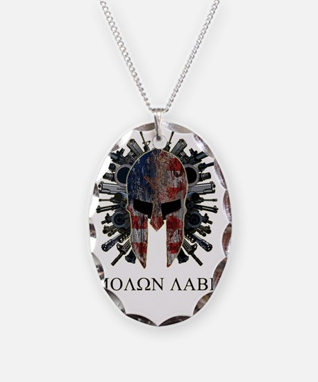 Come and Get Our Guns Necklace
