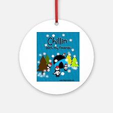 Little Critters - Chillin Round Ornament