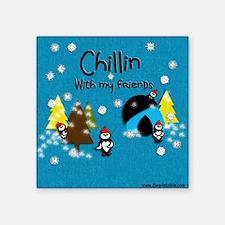 """Little Critters - Chillin Square Sticker 3"""" x 3"""""""