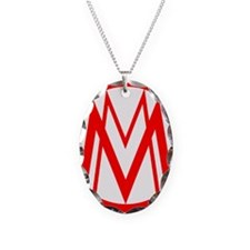 MM red Necklace