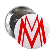 """MM red 2.25"""" Button"""