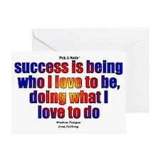 Success Sign Greeting Card