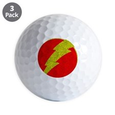 Flash Bolt Superhero Golf Ball