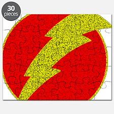 Flash Bolt Superhero Puzzle