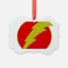 Flash Bolt Superhero Ornament