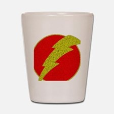 Flash Bolt Superhero Shot Glass