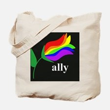 button ally flower 2 Tote Bag