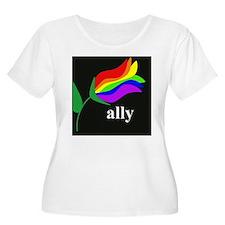 button ally f T-Shirt