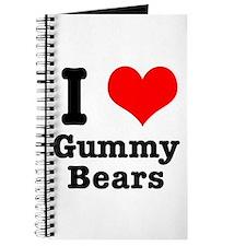 I Heart (Love) Gummy Bears Journal