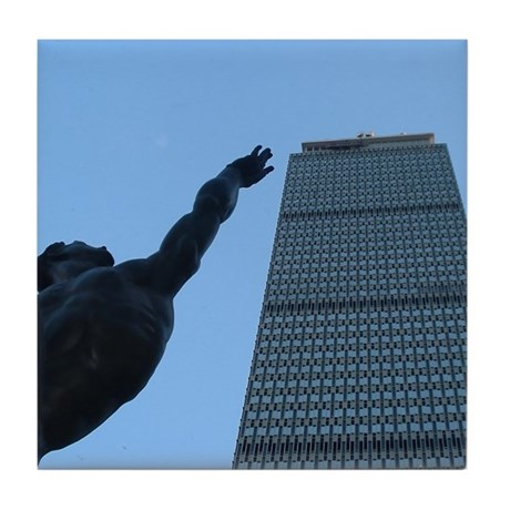 Prudential Tower - Tile Coaster