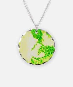 Global Green Light Necklace