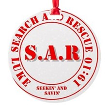 SAR Luke 19:10 Ornament