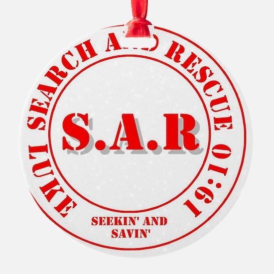 SAR Luke 19:10 Ornament