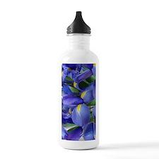 Flowers Sports Water Bottle