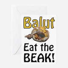 balut Greeting Card