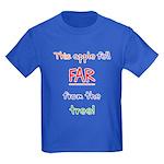 This Apple Fell Far Kids Dark T-Shirt