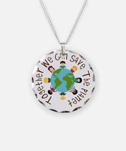 Together Save the Planet Necklace