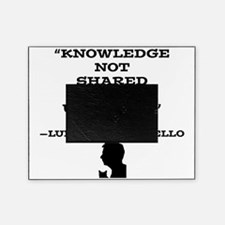 Knowledge Not Shared Remains Unkown Picture Frame