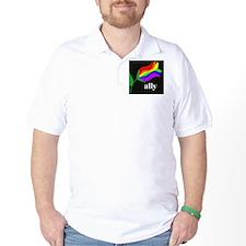 AllyFlowerSquare T-Shirt