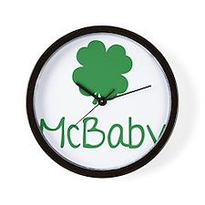 mcBaby1A Wall Clock