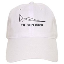 We're Skewed Baseball Cap
