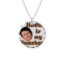 Bobby Jindal is my homeboy Necklace Circle Charm