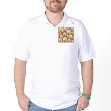 Tan Bulldogs on Brown T-Shirt
