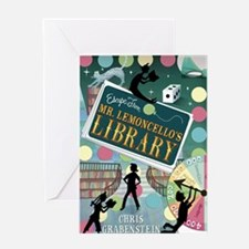 Escape From Mr. Lemoncellos Library Greeting Card