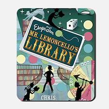 Escape From Mr. Lemoncellos Library Mousepad