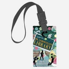 Escape From Mr. Lemoncellos Libr Luggage Tag