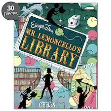 Escape From Mr. Lemoncellos Library Puzzle