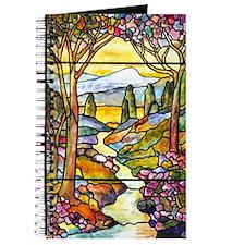 Tiffany Landscape Window Journal