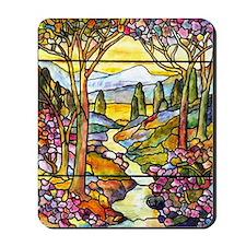 Tiffany Landscape Window Mousepad