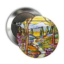 """Tiffany Landscape 2.25"""" Button"""