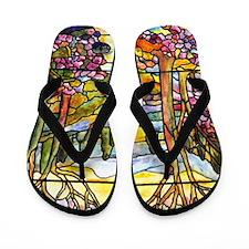 Tiffany Landscape Flip Flops