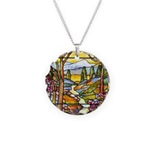 Tiffany Landscape Necklace