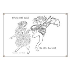 Dances with Wool ... Its all in the Twist Banner