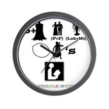 Its A Puzzle Mystery Wall Clock