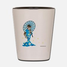 Shiba Geisha Black and Tan Shot Glass