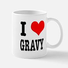 I Heart (Love) Gravy Mug
