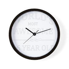 16 year old Wall Clock