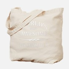 16 year old Tote Bag