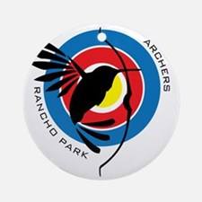Rancho Park Archers Round Ornament
