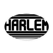 Harlem Oval Car Magnet