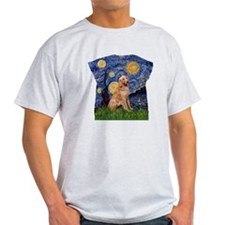 Starry Night - Golden 1 T-Shirt