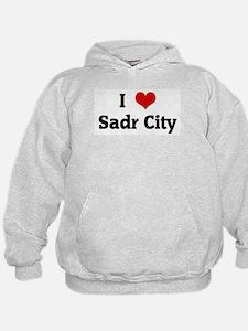 I Love Sadr City Hoodie