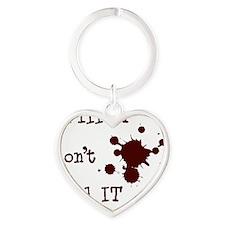 Grill It Heart Keychain