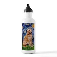 Starry -V - G, olden 1 Water Bottle